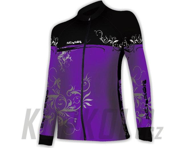 Dámský dres Sensor Flowers Evo ad96356c86