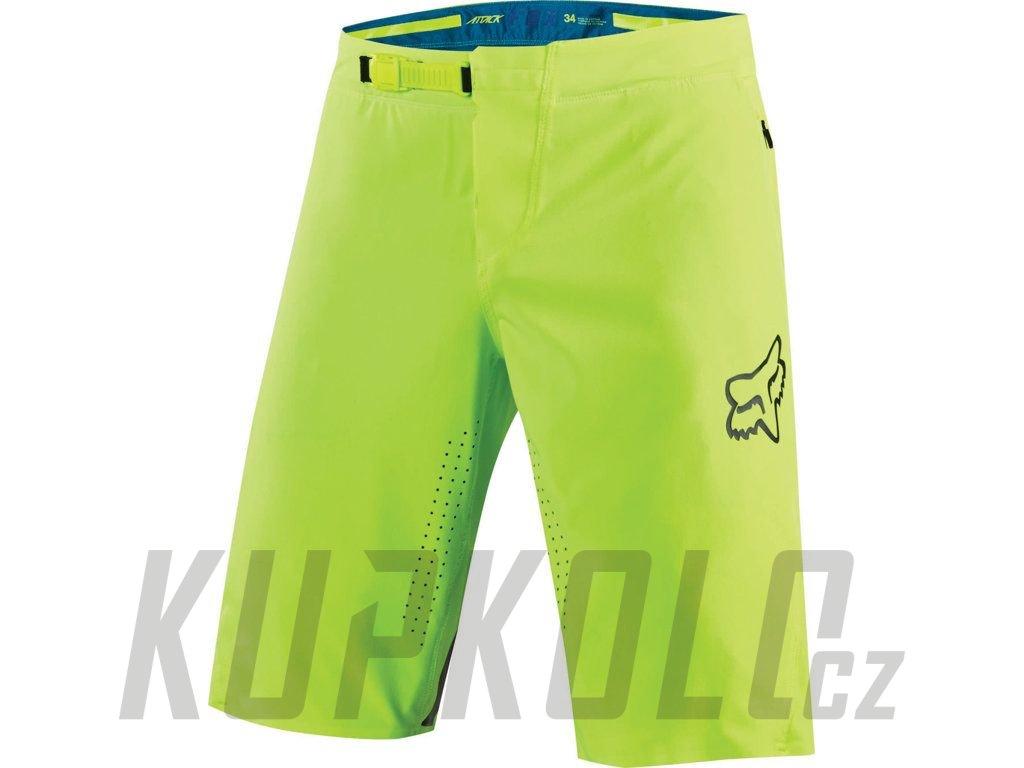 0873656ed5ff4 Pánské kraťasy Fox Attack Short fluo - kupkolo.cz