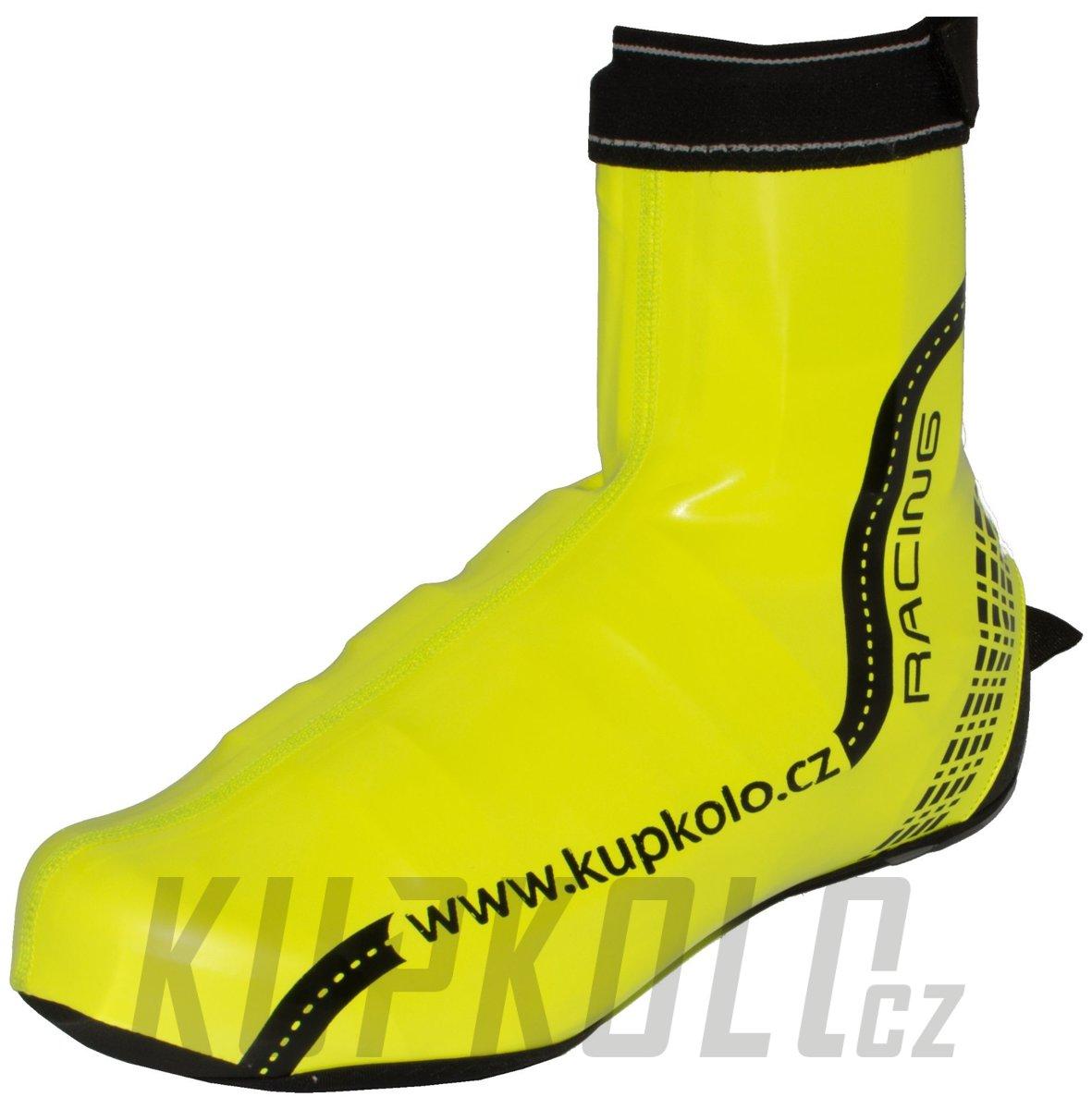 cafc8d25857 Návleky na tretry voděodolný PU - Kupkolo Racing - fluo lesk ...