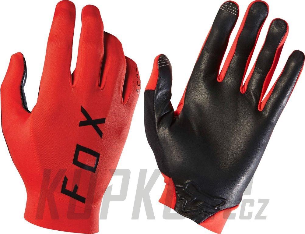 Rukavice Fox Ascent Glove červená - kupkolo.cz 4a3736868d