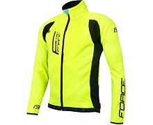 Bunda FORCE X80 tenký softshell, Fluo