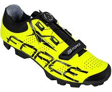 Tretry FORCE MTB CRYSTAL - Fluo