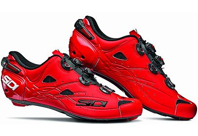 Tretry Sidi SHOT Carbon - matt red