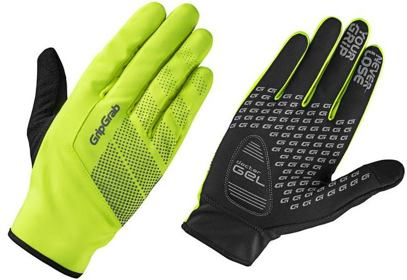 Rukavice GripGrab Ride HI-VIS Windproof midseason, fluo/reflex