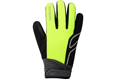 Rukavice SHIMANO Windbreak - fluo