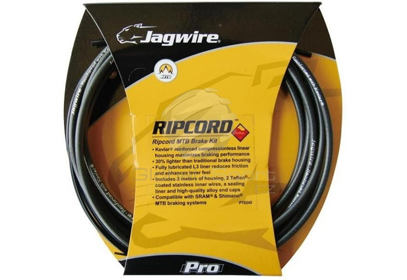 Brzdový set Jagwire Ripcord Mountain PRO - black carbon
