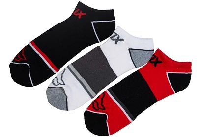 3 pack ponožky Fox Tech Midi Socks 3 Pack flame red