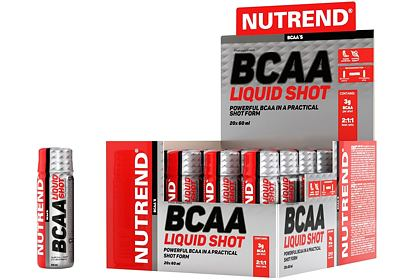 Nutrend BCAA LIQUID SHOT, 20x60 ml