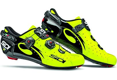Tretry Sidi WIRE Carbon Vernice, 2016 - yellow/fluo/black