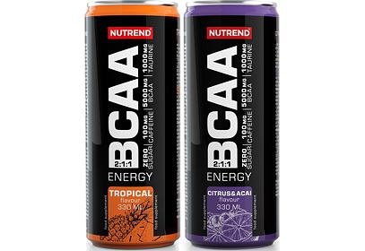 Nutrend BCAA energy dring - nápoj 330ml